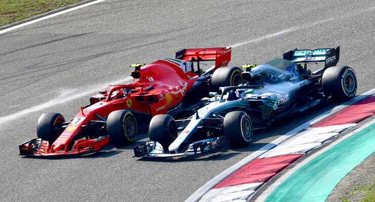 Ferrari vs. Mercedes - GP China 2018