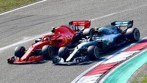 Ferrari vs. Mercedes - GP China 2018
