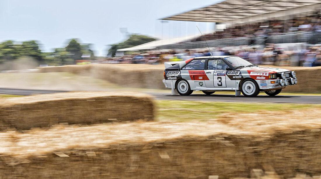 Festival of Speed, Hannu Mikkola, Audi Quattro
