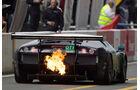 Feuer am Lamborghini Murcielago