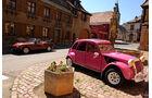Fiat 124 Spider, Ente, Vogesen