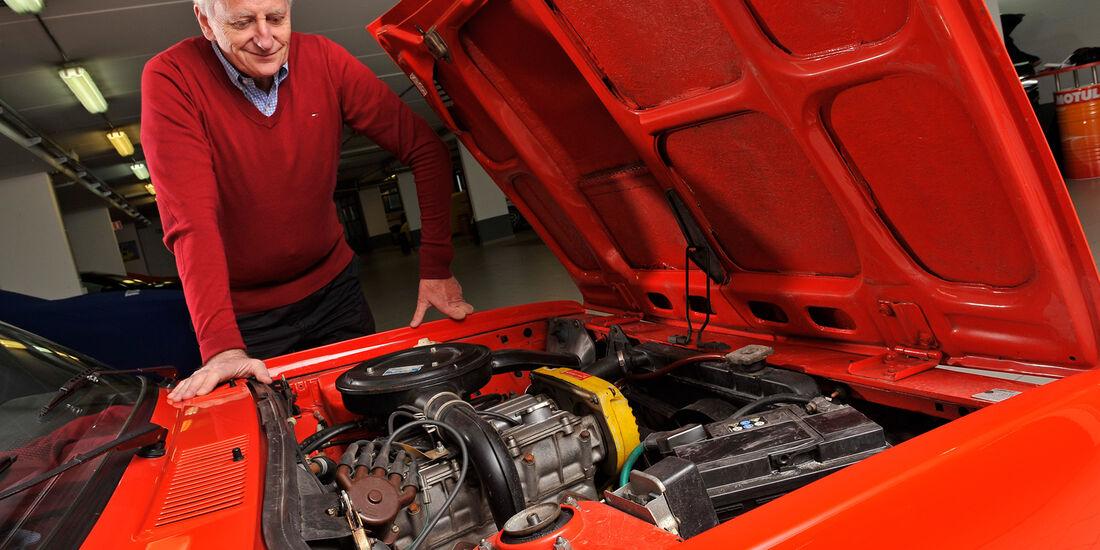 Fiat 131 Abarth, Ed Goedert, Motor