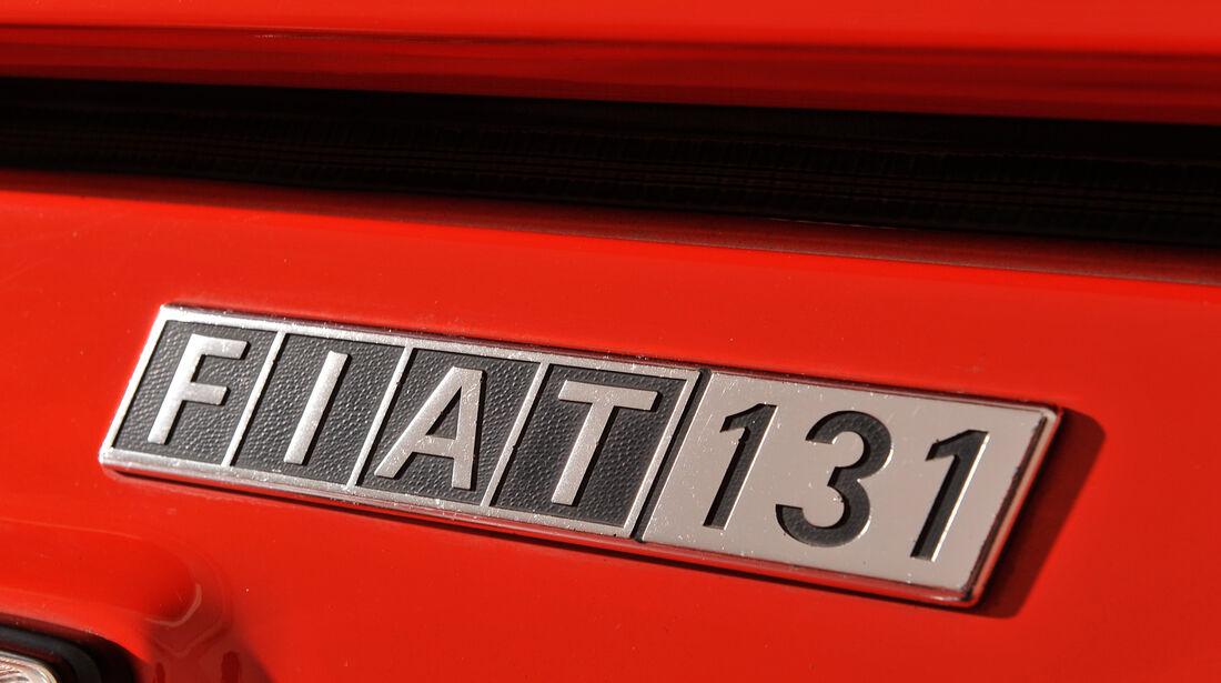 Fiat 131 Abarth, Typenbezeichnung