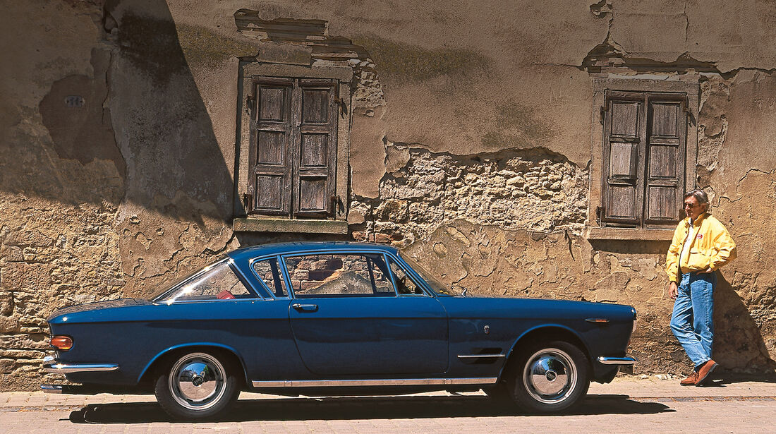 Fiat 2300 S Coupé, Seitenansicht