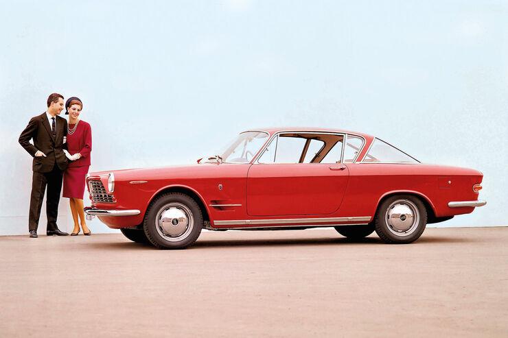 Fiat 2300 S Coupé, Werbebild