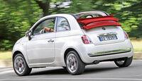 Fiat 500, Heckansicht
