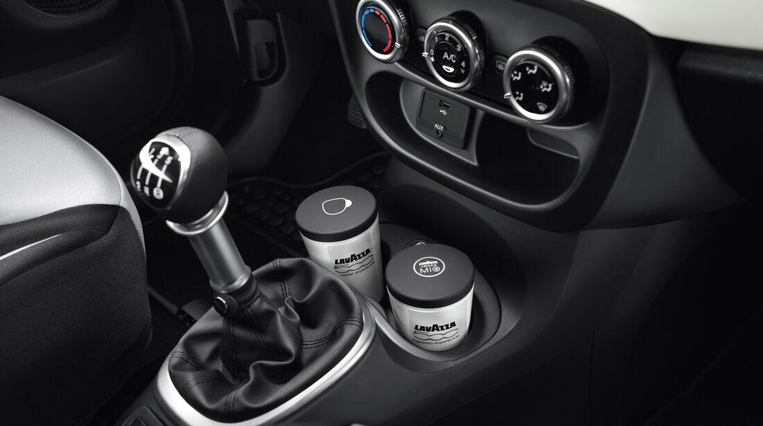 Fiat 500 L, Mittelkonsole, Getränkehalter