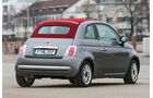 Fiat 500C 1.2 8V Pop Star, Heckansicht