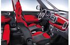 Fiat 500L, Fahrersitz, Sitze, Cockpit