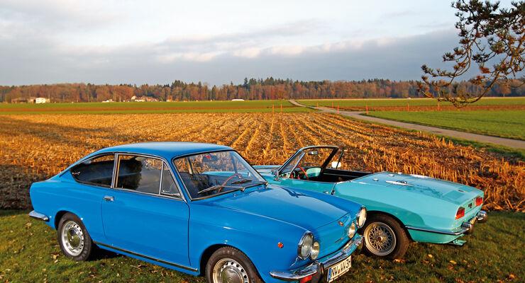 Fiat 850 Coupé, Seitenansicht