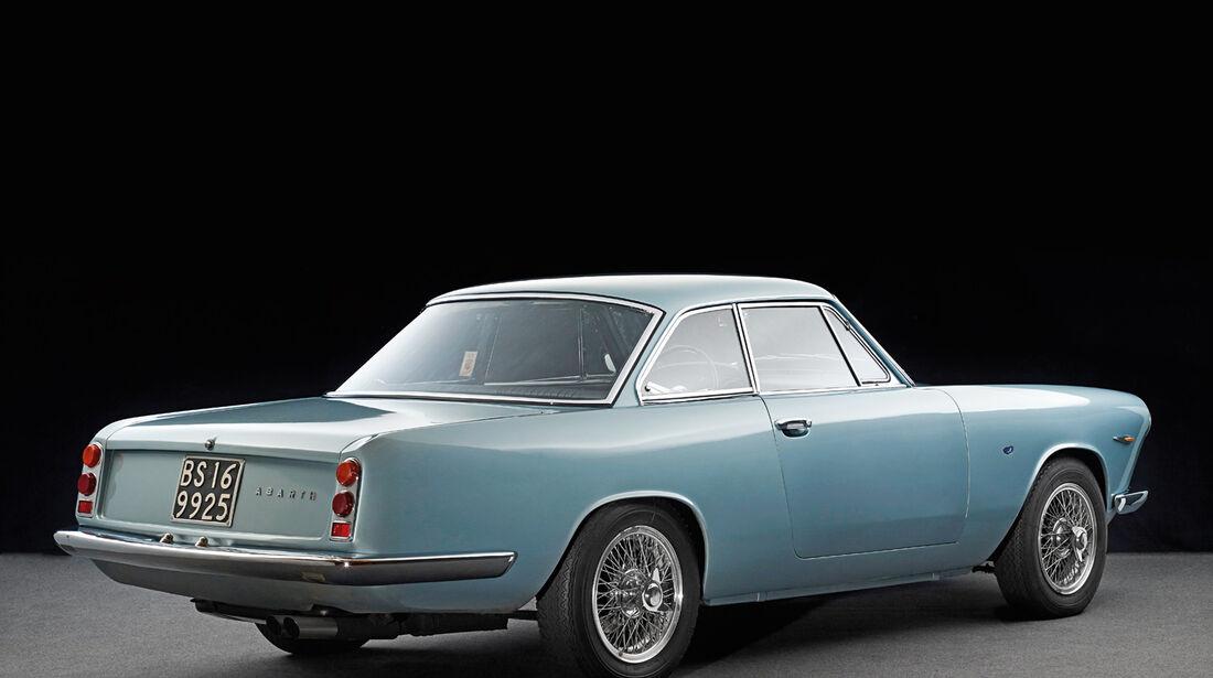 Fiat/Abarth 2400 Allemano, Heckansicht