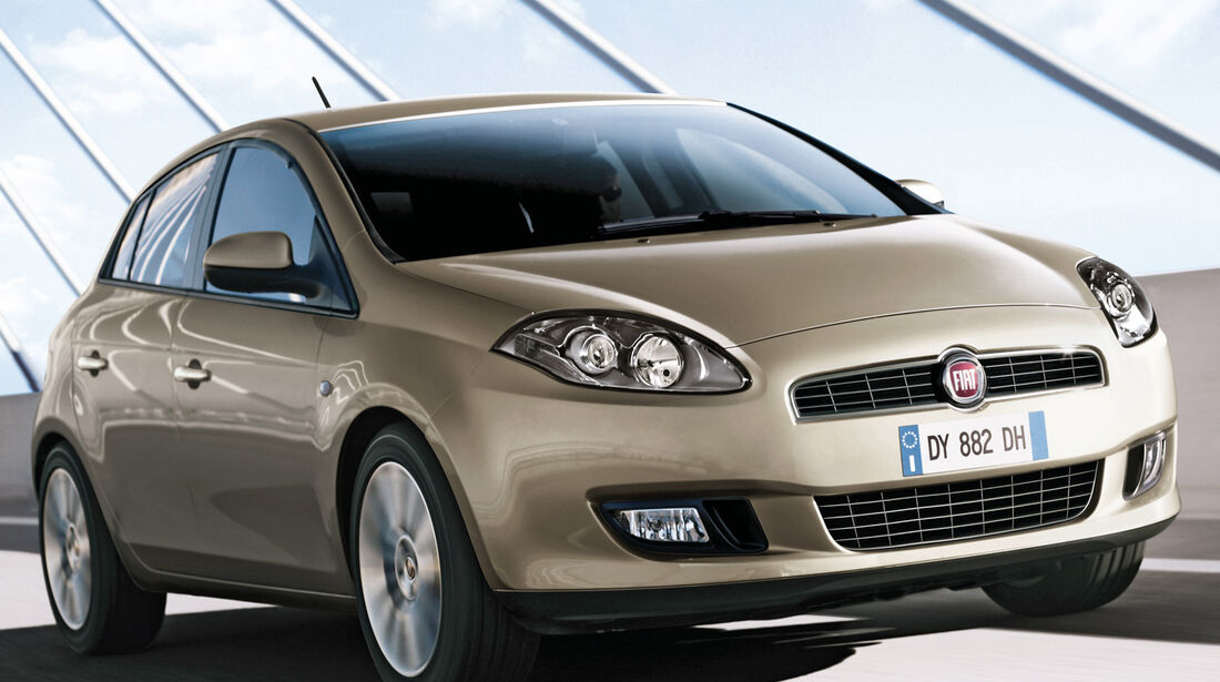 Fiat Bravo, Frontansicht
