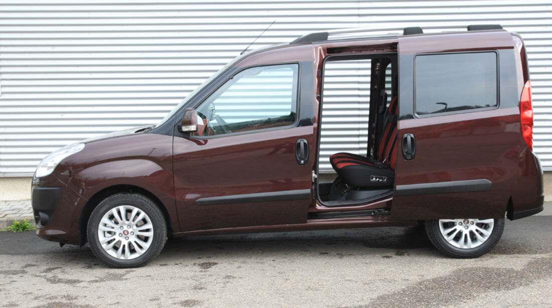 Fiat Doblo 2.0 16V Multijet, Seite, Schiebetür