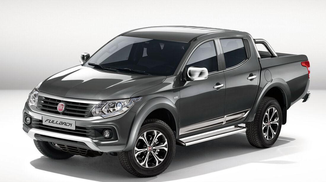 Fiat Fullback Pickup Premiere Dubai 2015