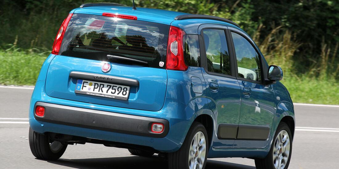 Fiat Panda 1.2 8V Lounge, Heckansicht
