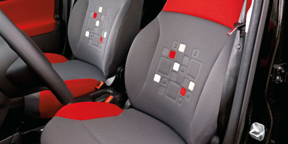 Fiat Panda 1.3 Multijet 16V Lounge, Fordersitz, Fahrersitz