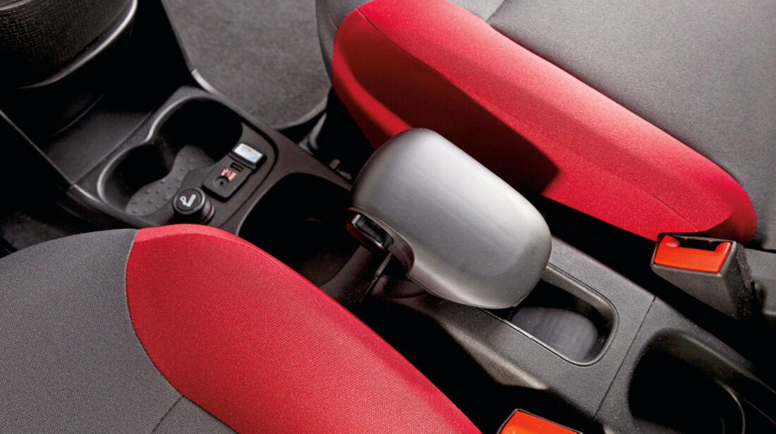 Fiat Panda 1.3 Multijet 16V Lounge, Mittelkonsole