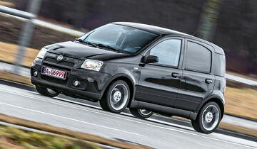 Fiat Panda 100 HP, Seitenansicht