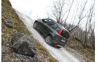 Fiat Panda 4x4, Seitenansicht, Steigung
