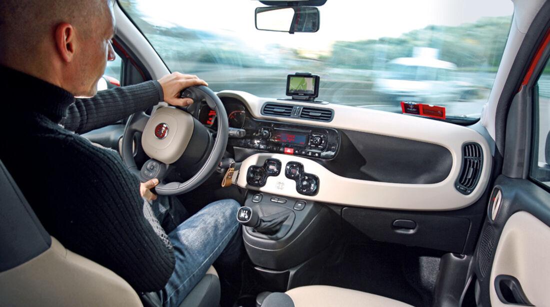 Fiat Panda, Innenraum