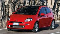 Fiat Punto, Frontansicht