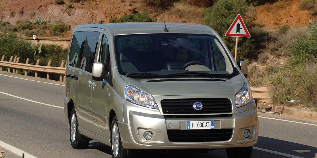 Fiat Scudo, Frontansicht