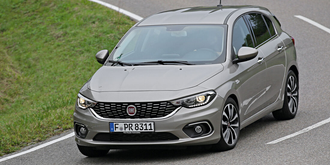 Fiat Tipo 1.4 T-Jet, Frontansicht
