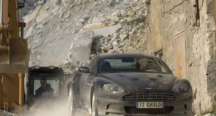 Filmautos: James Bond Aston Martin