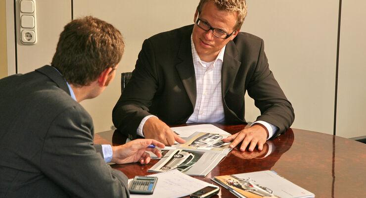 Finanzierungsgespräch
