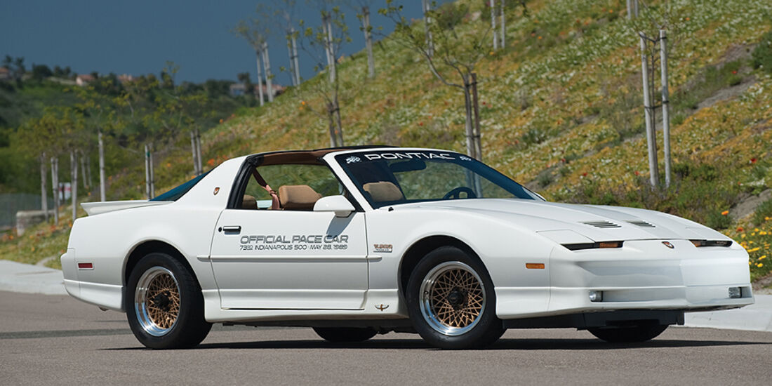 Firebird Trans Am 20th Anniversary Special Edition (Frontansicht)