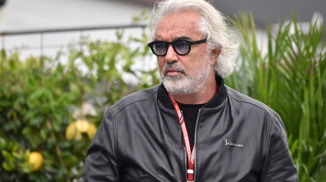 Flavio Briatore - Formel 1 - GP Aserbaidschan - 29. April 2018
