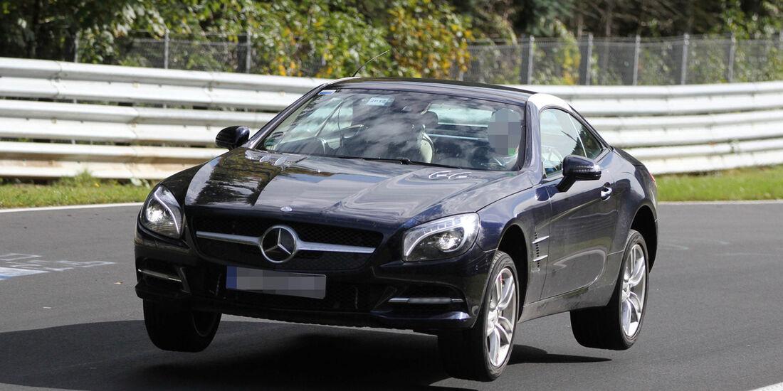 Fliegende Erlkönige, Mercedes SLK