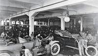 Fließband, Daimler, 1912, Endferitgung