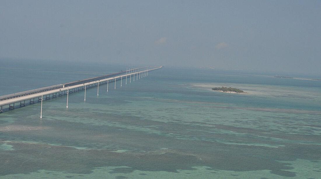 Florida mit BMW X5, Highway Number One