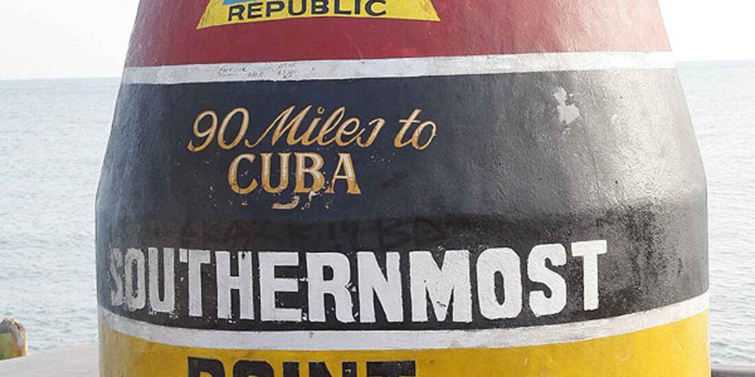 Florida mit BMW X5, südlichste Punkt