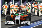 Force India Boxenstopp 2011