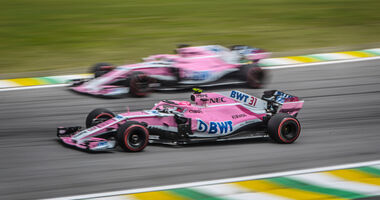 Force India - Esteban Ocon - Sergio Perez - GP Brasilien 2018