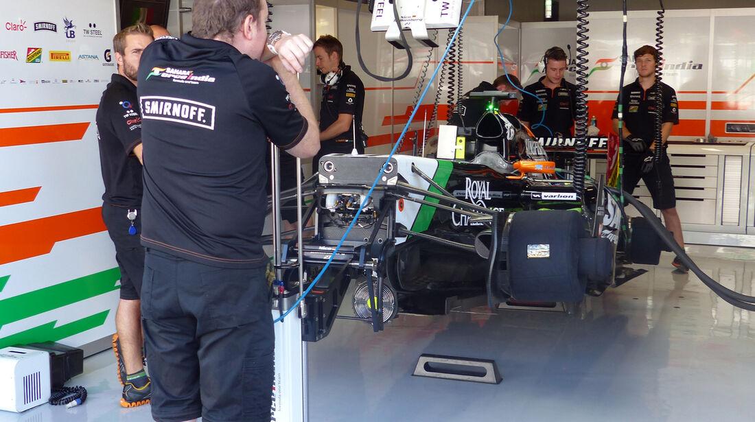 Force India  - Force India - Formel 1 - GP Italien - 6. September 2014