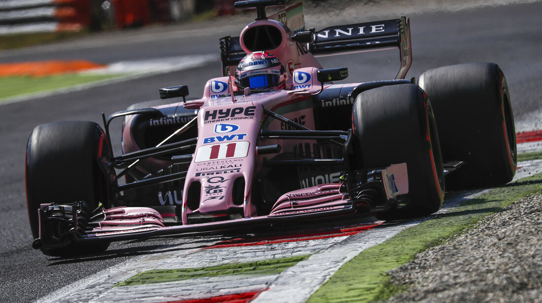 Force India - Formcheck - GP Italien 2017
