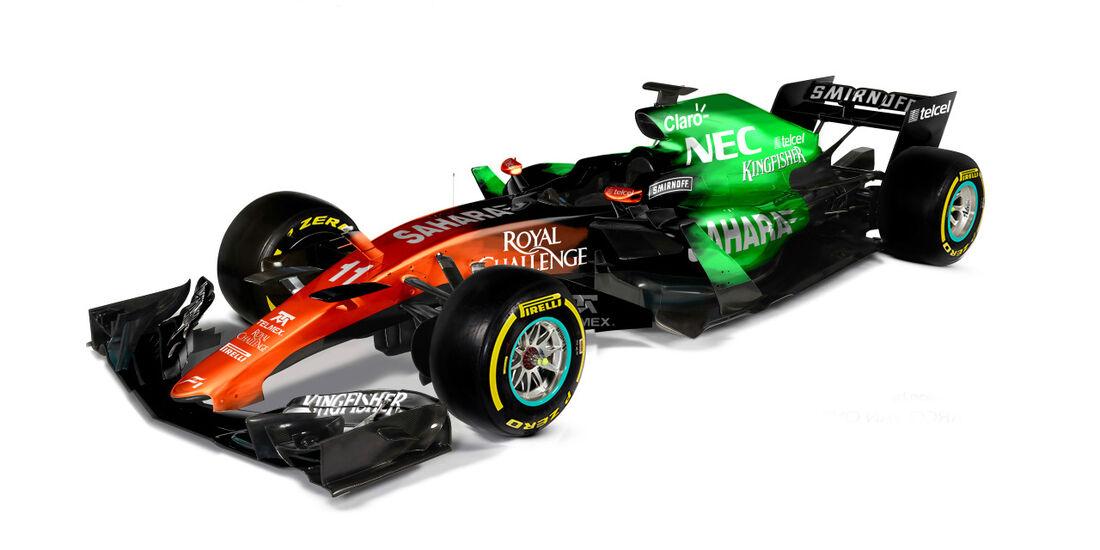 Force India - Formel 1 2017 - Designs - Sean Bull