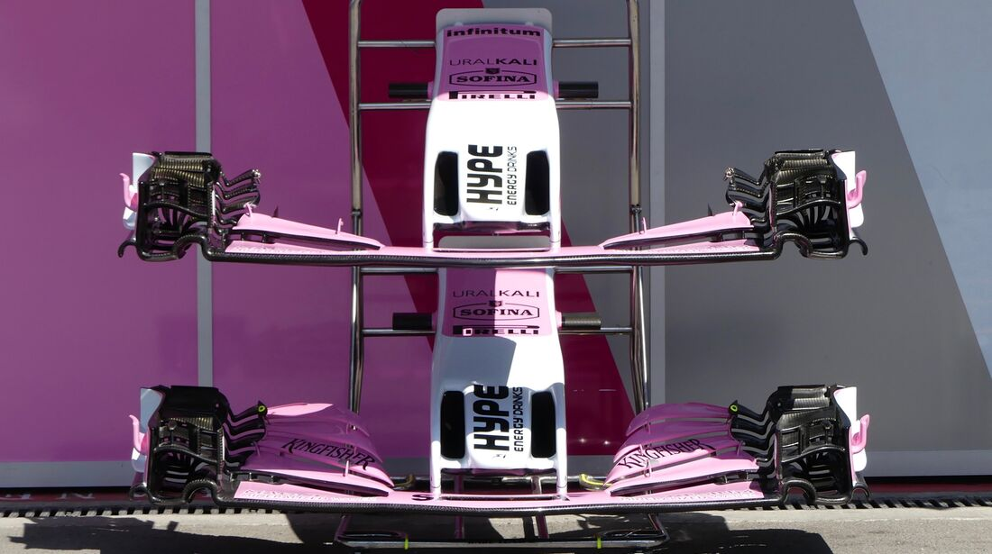 Force India - Formel 1 - GP Aserbaidschan - 26. April 2018
