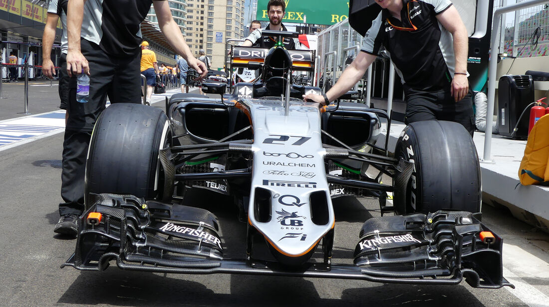 Force India - Formel 1 - GP Aserbaidschan - Baku - 16. Juni 2016