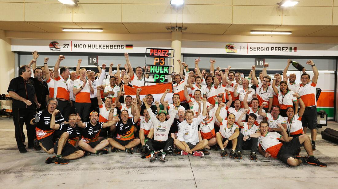 Force India - Formel 1 - GP Bahrain 2014