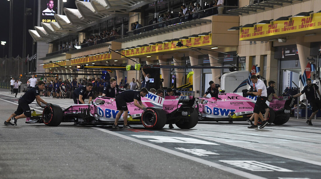 Force India - Formel 1 - GP Bahrain - 7. April 2018