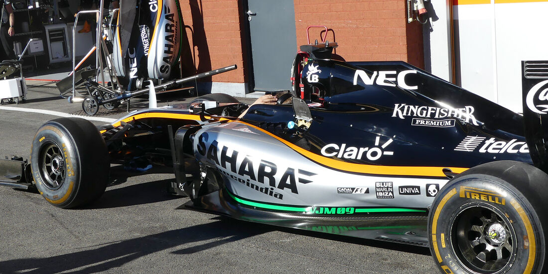 Force India - Formel 1 - GP Belgien - Spa-Francorchamps - 25. August 2016
