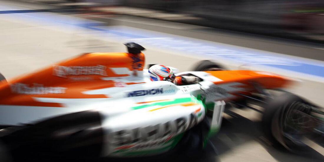 Force India - Formel 1 - GP China - 12. April 2013