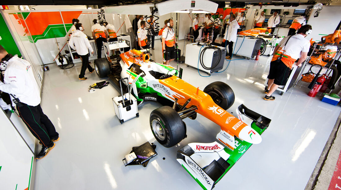 Force India - Formel 1 - GP England - Silverstone - 6. Juli 2012