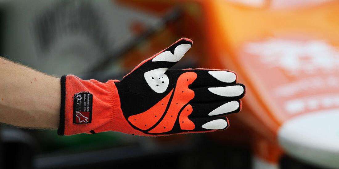 Force India - Formel 1 - GP Japan - Suzuka - 6. Oktober 2012