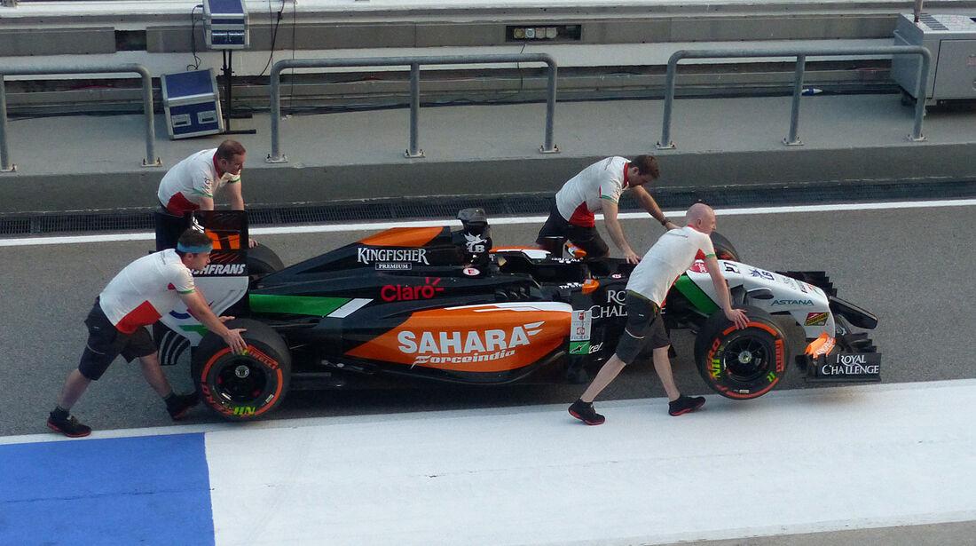 Force India - Formel 1 - GP Malaysia - 27. März 2014