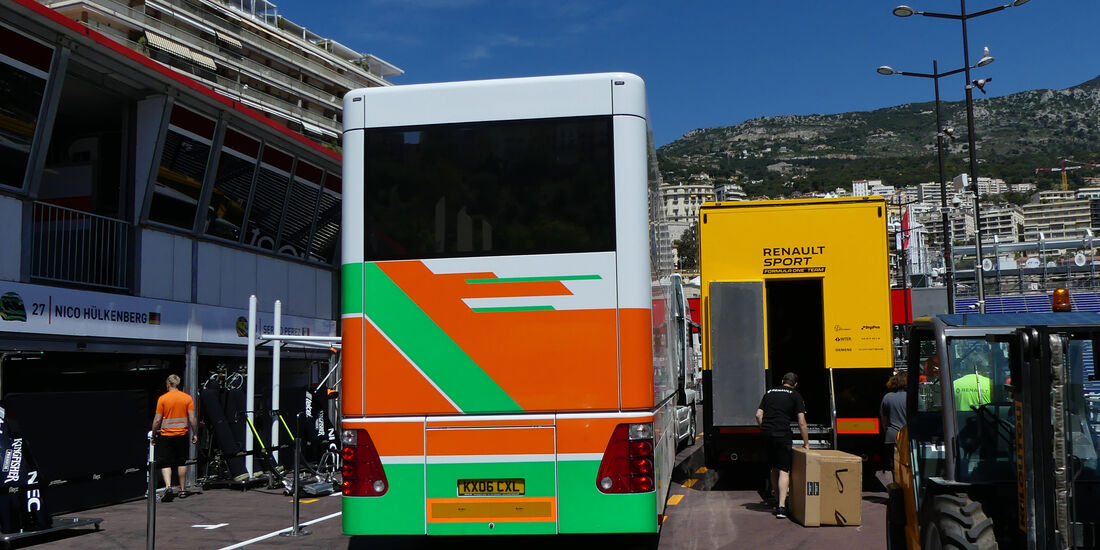 Force India - Formel 1 - GP Monaco - 24. Mai 2016